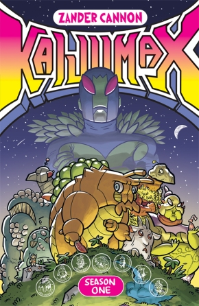 "Comics you should be reading: Zander Cannon's ""Kaijumax""."