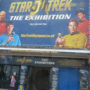 "Joe visits: ""Star Trek: The Exhibition"""