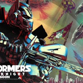 "WERD/ART – ""TRANSFORMERS: The Last Knight"" Billboard Poster"